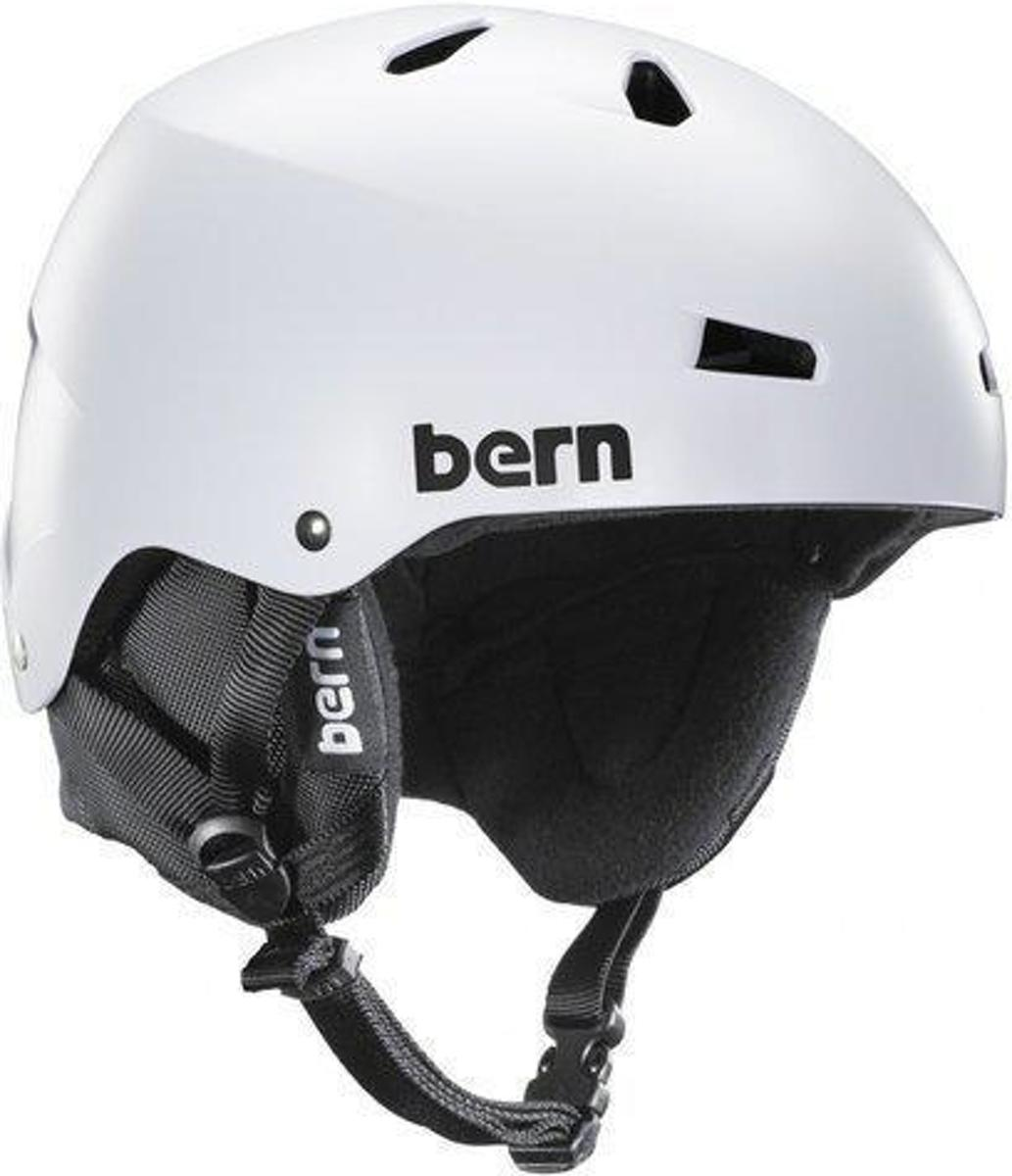 Bern Macon skihelm-heren-57-60-Satin White kopen