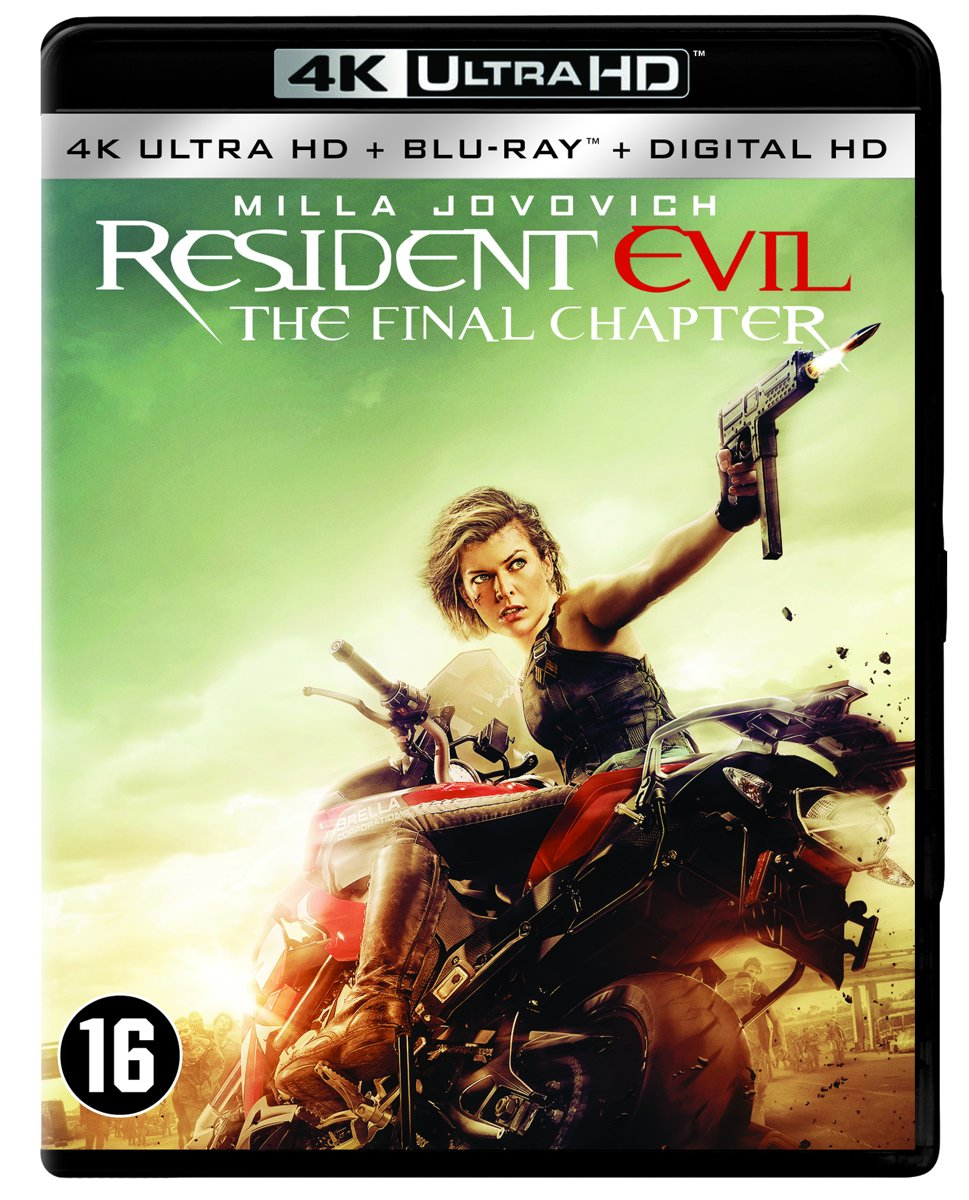 Resident Evil: The Final Chapter (4K Ultra HD Blu-ray)-
