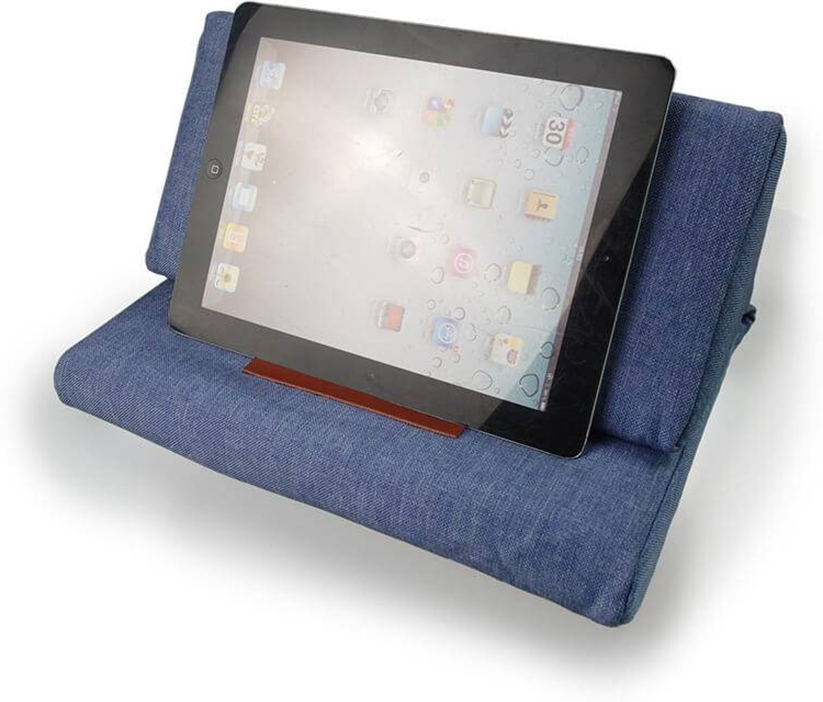 iPad kussen donker blauw kopen