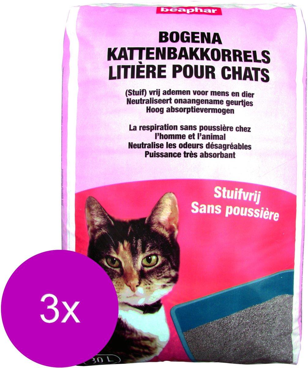 Beaphar Stuifvrij - Kattenbakvulling - 3 x 20 kg kopen