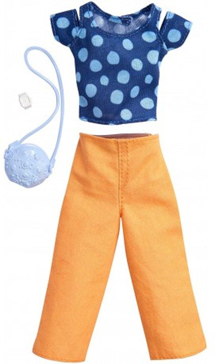 Barbie Outfit - Shirt + Lange Broek en Accessoires