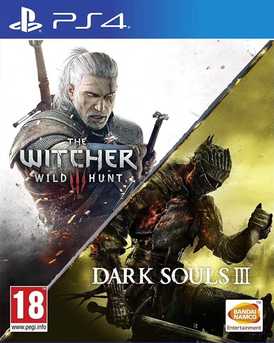 Dark Souls III 3 & The Witcher 3: Wild Hunt Compilation PlayStation 4