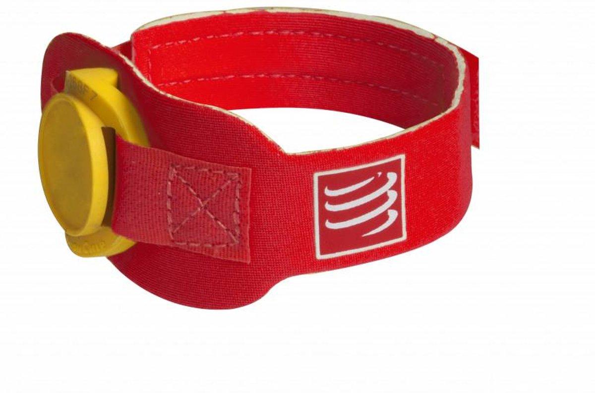 Compressport Timing Chip Strap - RED - Uniq Size kopen