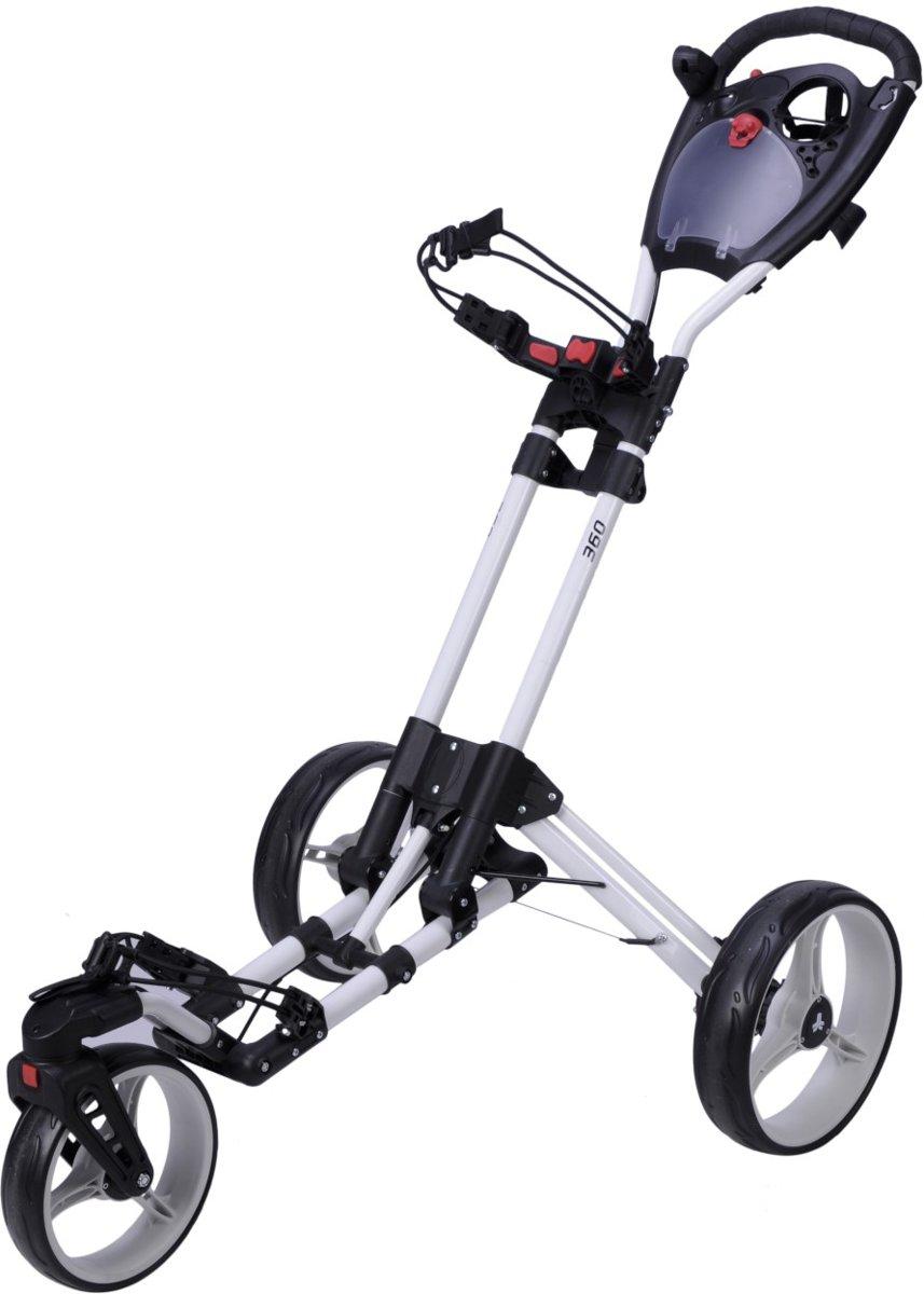 FastFold - 360 golftrolley - wit kopen