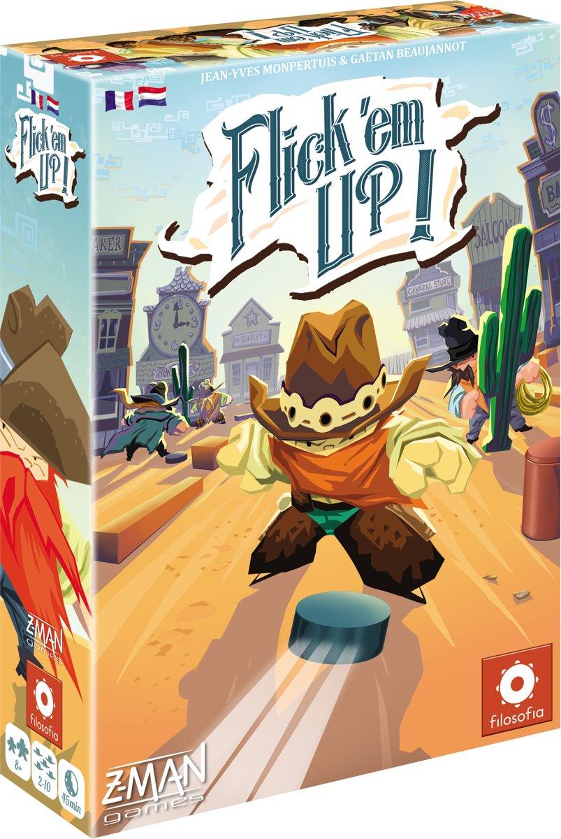 Flick 'em Up! - Plastic versie