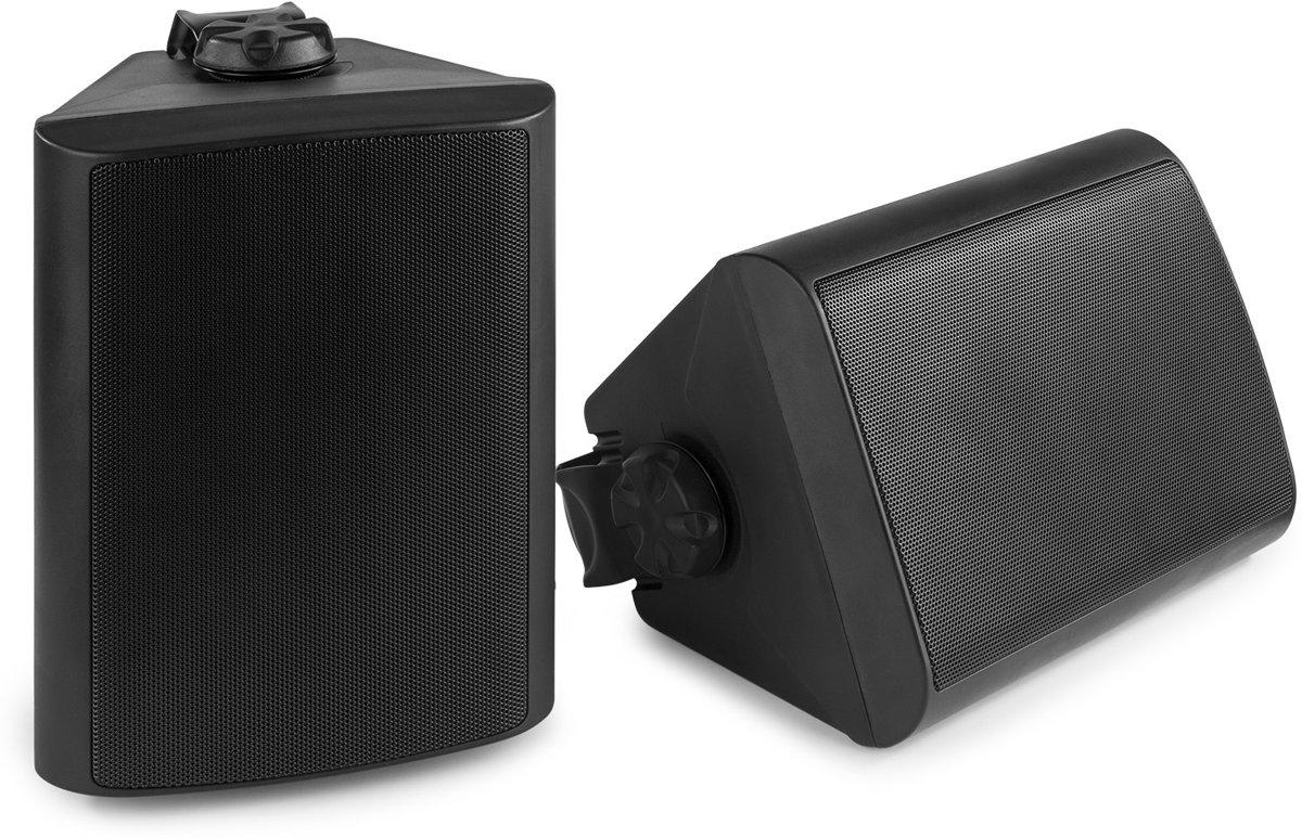 """Speakerset voor binnen en buiten - Power Dynamics BGO65 zwarte 6.5"""" speakerset voor tuin, terras, etc. - 150W kopen"""