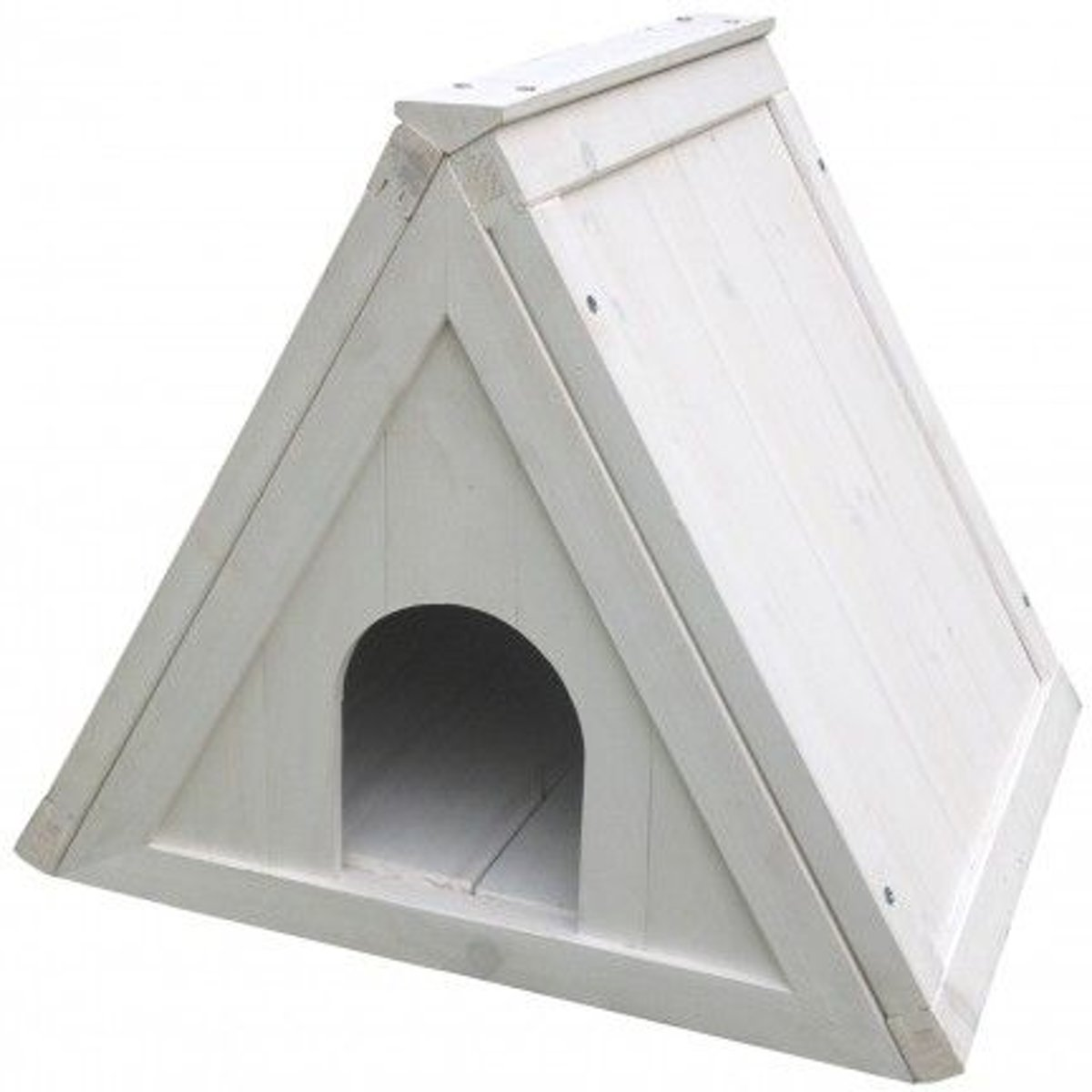 Duvo+ Schuilhok Pam Cottage  - Wit - 50 x 42 x 42cm kopen