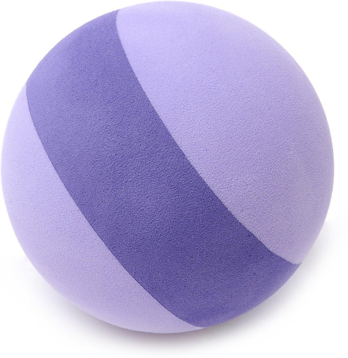 YOGISTAR Fascia massagebal - paars-violet - EVA - 9 cm - - - Yogablok kopen