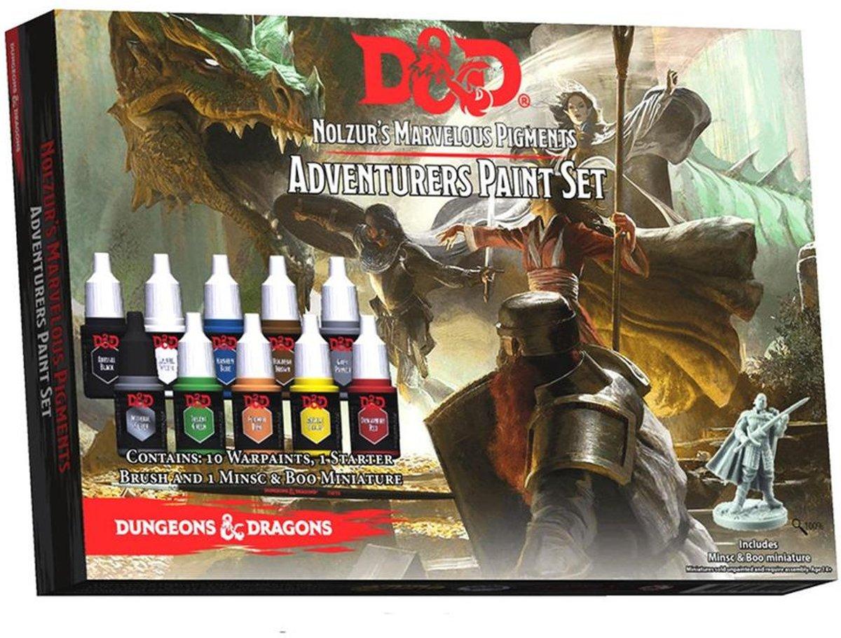 Dungeons and Dragons Nolzur's Marvelous Pigments - Adventurers Paint Set