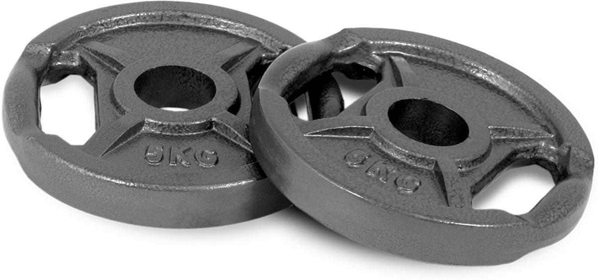 5kg ijzeren olympische schijvenset kopen