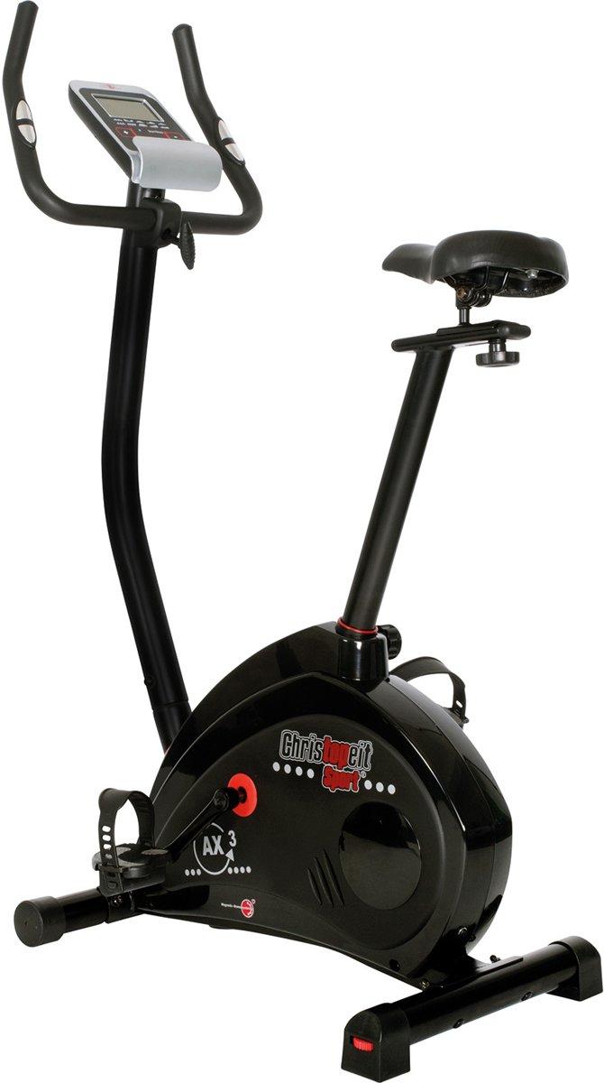 Christopeit hometrainer ergo AX3 black edition kopen