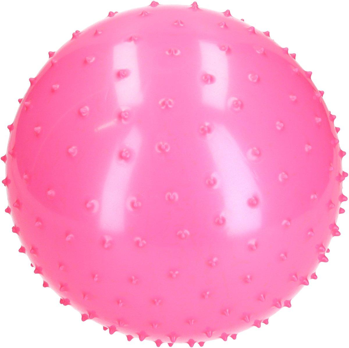 BDO Speelbal Educatief – ideaal voor Binnen – 25cm – Groot Formaat – Roze