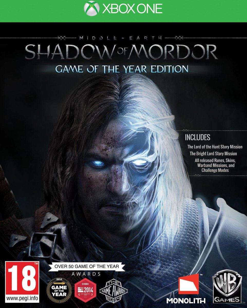 Middle-Earth: Shadow Of Mordor - Game Of The Year Edition Xbox One