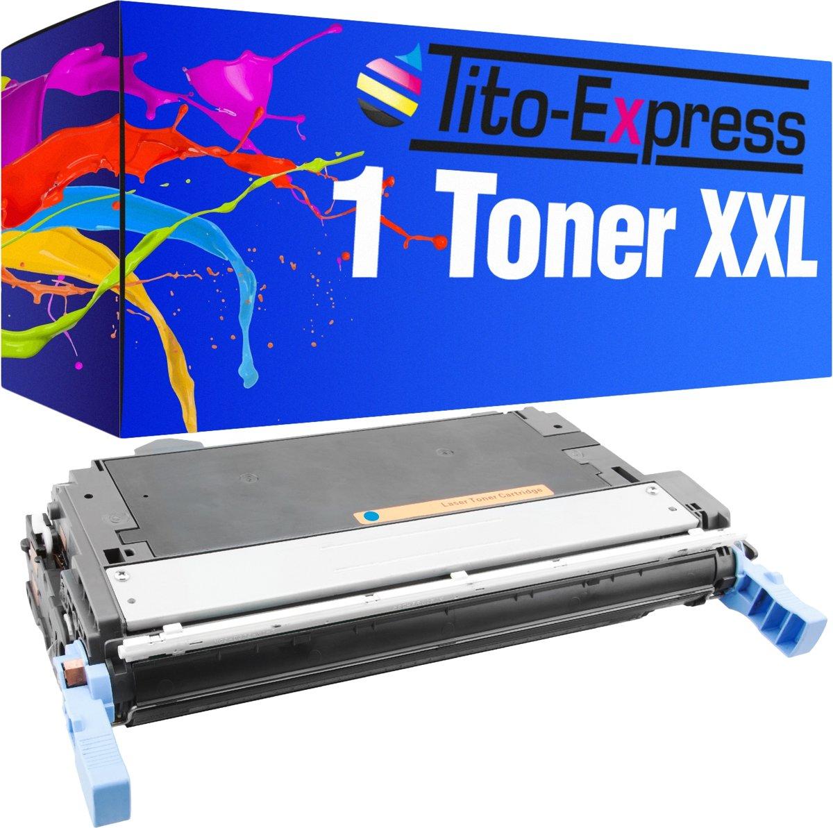 Tito-Express PlatinumSerie PlatinumSerie® XXL blauw voor HP Q5951A toner Color LaserJet 4705 kopen
