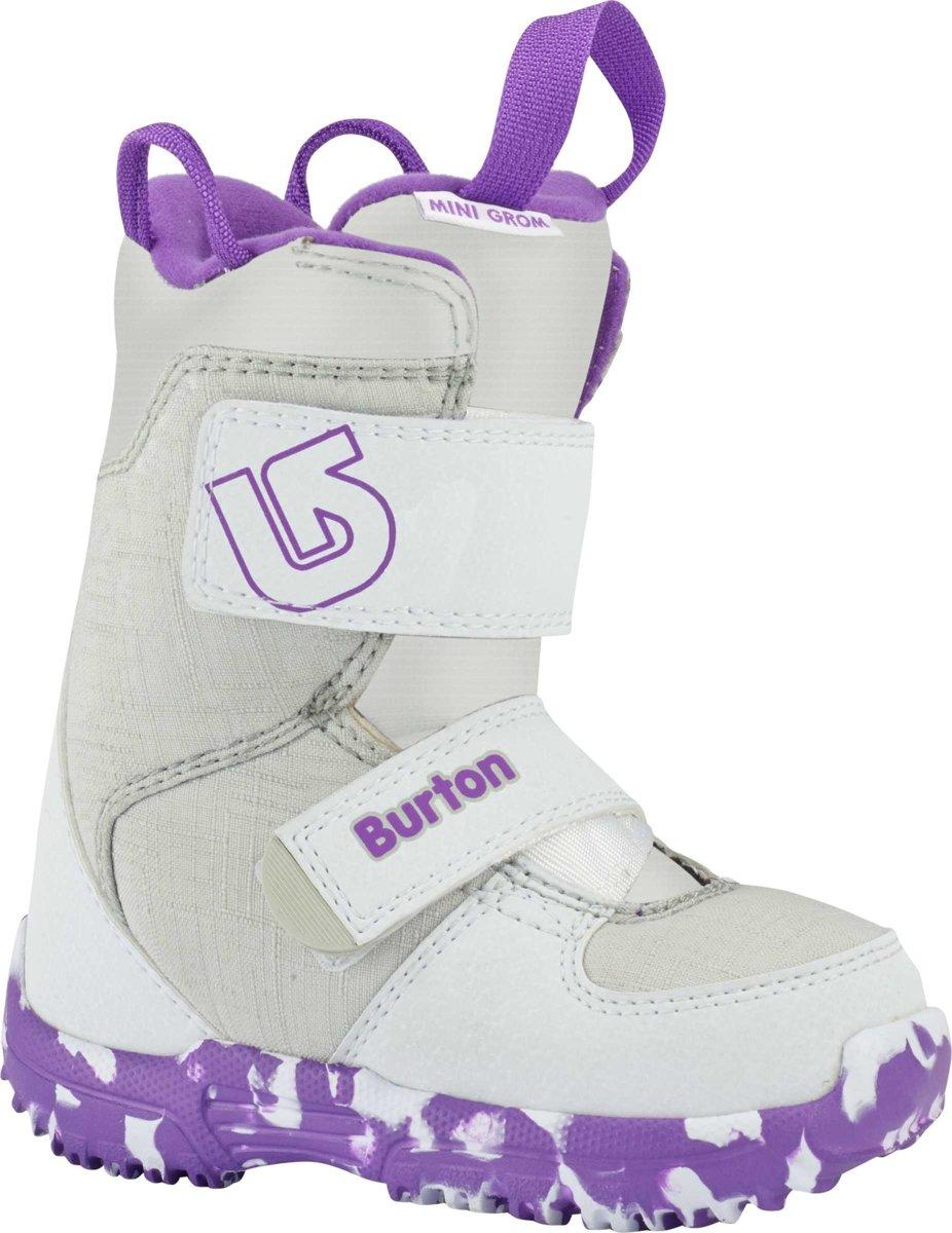 Burton Mini Grom kinder snowboardschoenen wit / paars kopen
