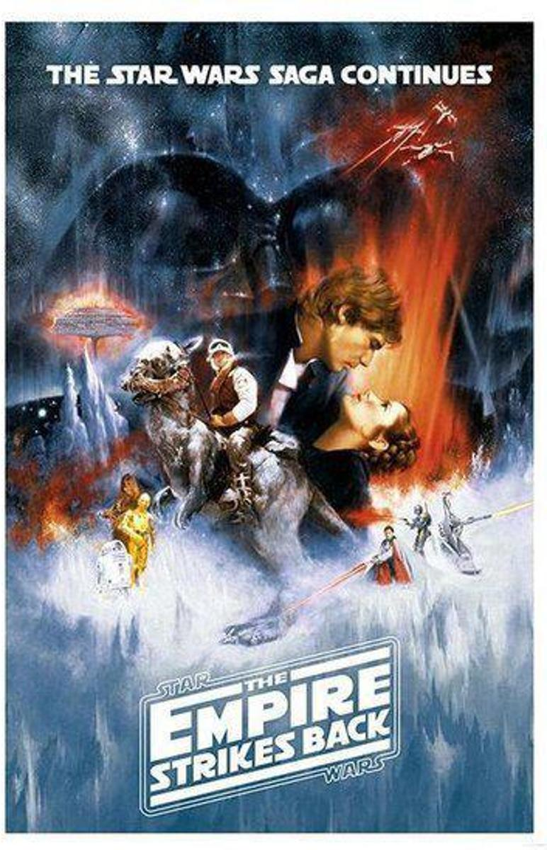 POSTER 23 STAR WARS - THE EMPIRE STRIKES BACK - ONE SHEET / PP33338 kopen
