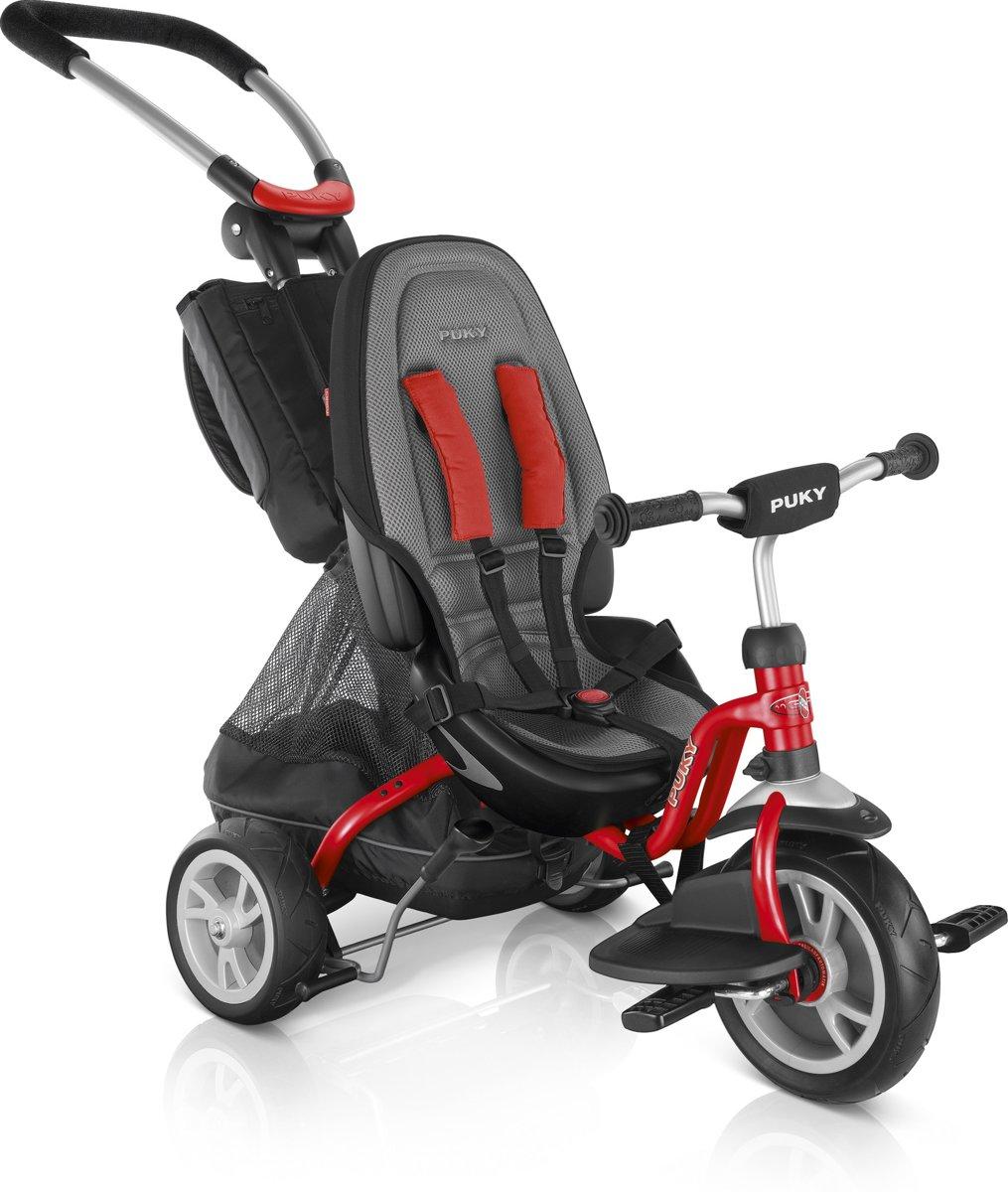 Driewieler Puky Ceety Premium rood 18 mnd/80 cm