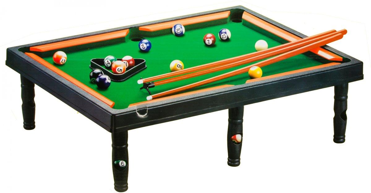 Lg-imports Tafelbiljart Snooker 68 X 48,5 Cm Zwart/groen