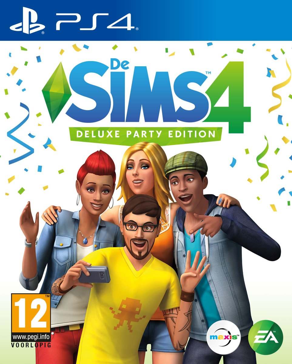 De Sims 4 - Deluxe Party Edition PlayStation 4