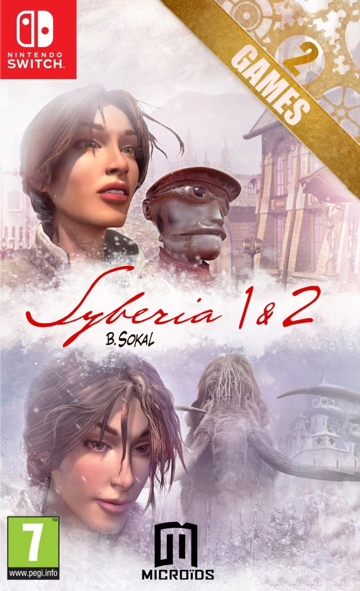 Syberia 1 + 2 Limited Edition Switch