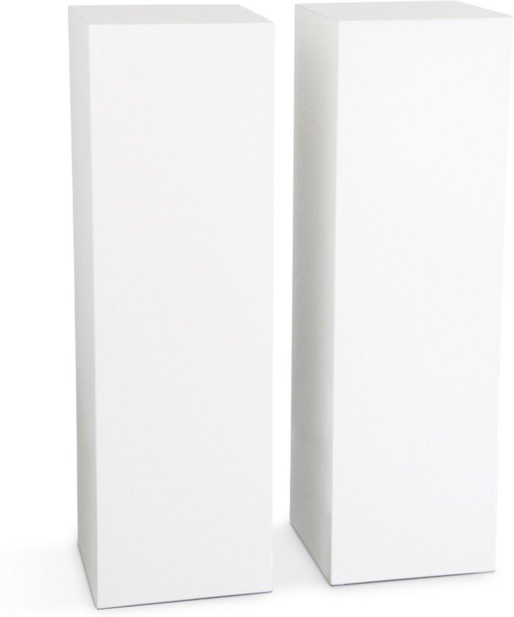 Decozuilen 2 Stuks, 100cm hoog, wit 30*30, Deco Bloom - Column kopen