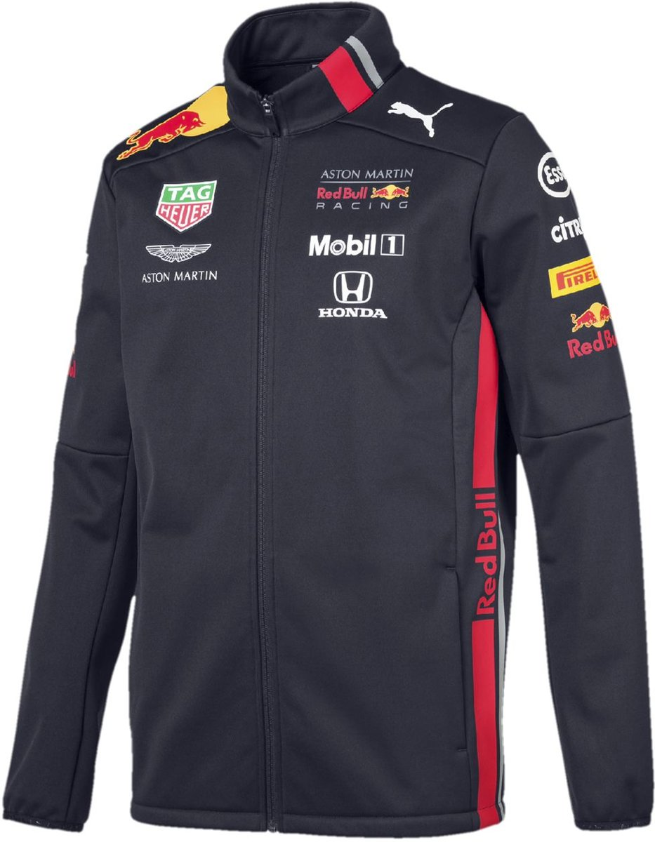PUMA Red Bull Racing Team Softshell Jas Heren - Night Sky