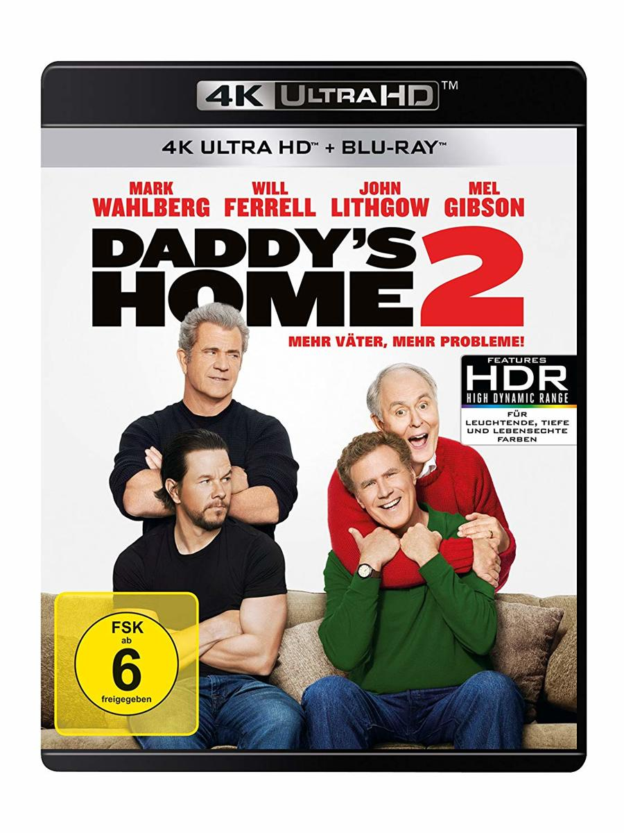 Daddy's Home 2 (Ultra HD Blu-ray & Blu-ray)-
