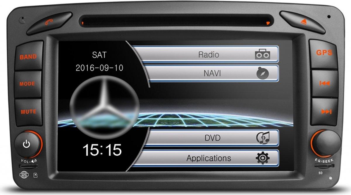 Mercedes c klasse radio navigatie w203 kopen