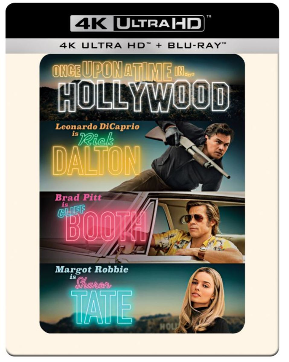 Once Upon A Time In Hollywood (4K Ultra HD Blu-ray) (Steelbook)-