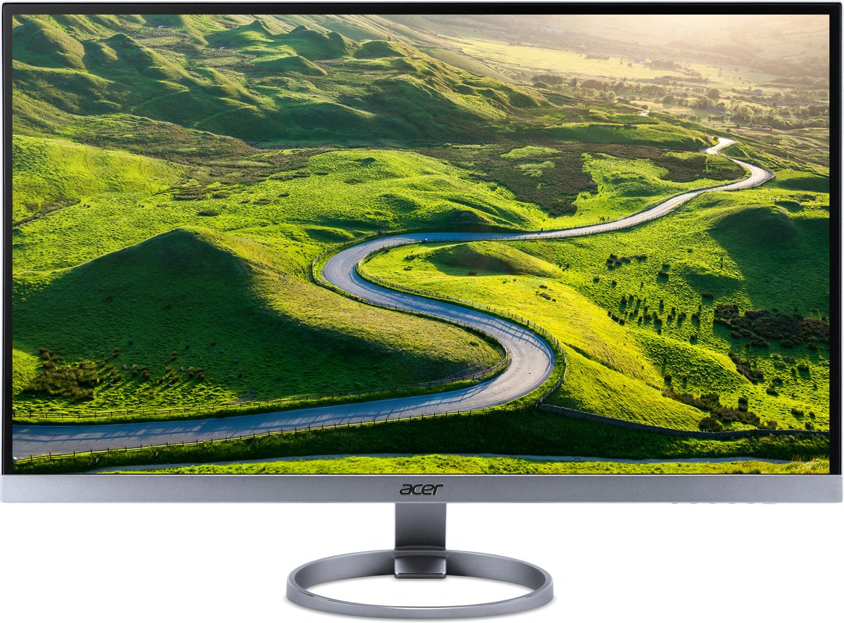 Acer H7 H277HU 27'' Wide Quad HD LED Zilver computer monitor