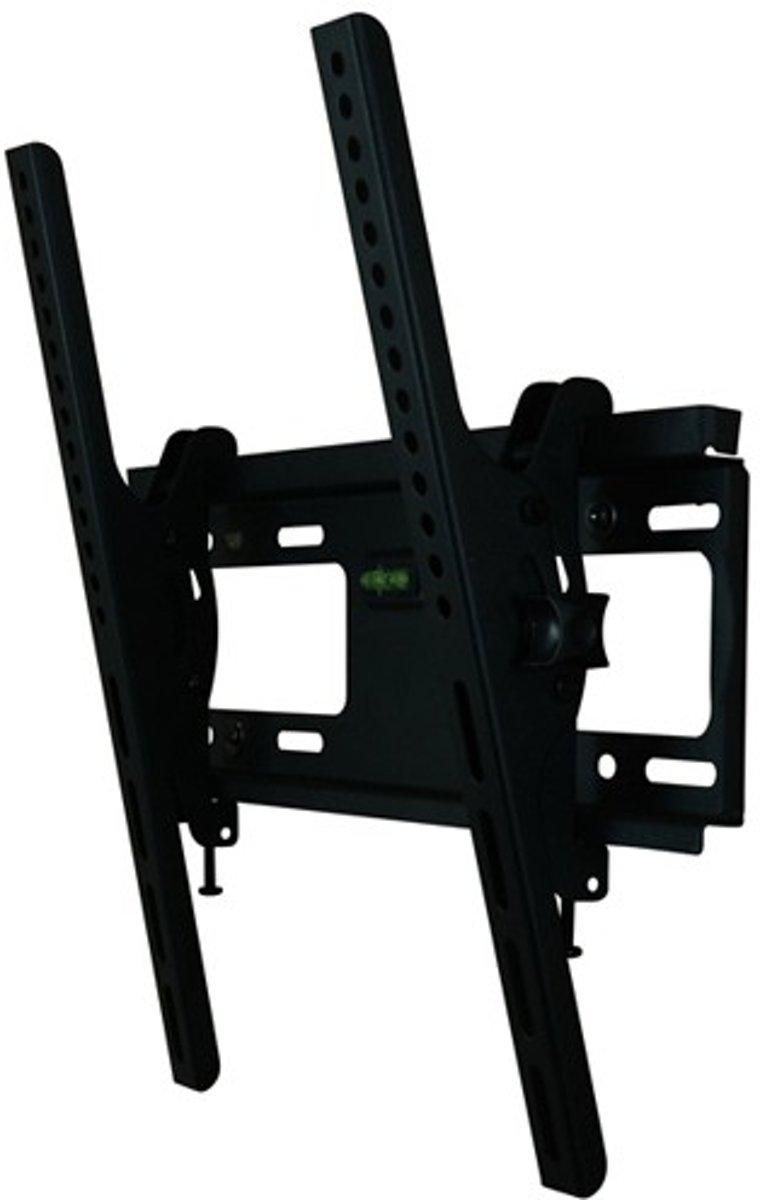 DQ Anna Flex 400 - Kantelbare muurbeugel - Geschikt voor tv's van 26 t/m 50 inch - Zwart kopen