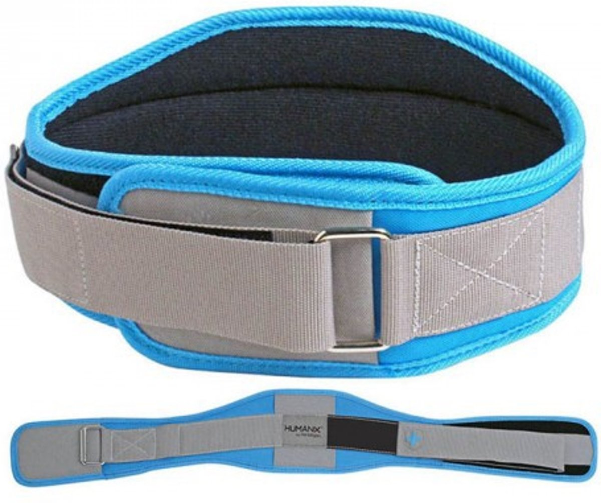 Harbinger Women's Competition CoreFlex Belt - Gewichthefriem - Large - Gray/Blue kopen