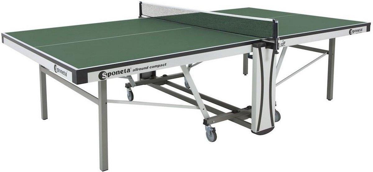 Sponeta allround compact tafeltennistafel indoor S7-AC Groen of Blauw kopen