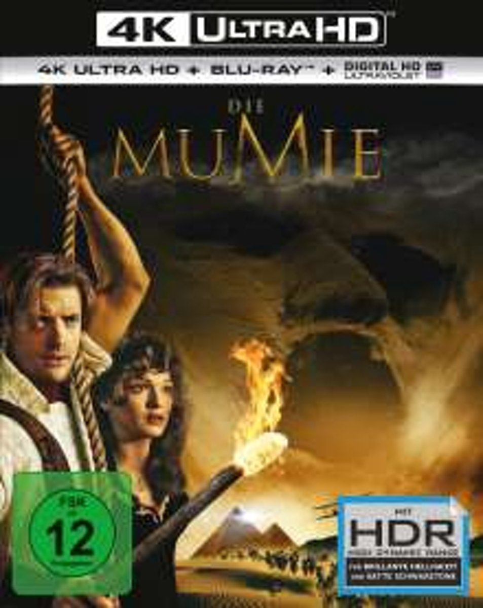 The Mummy (1999) (Ultra HD Blu-ray & Blu-ray)-