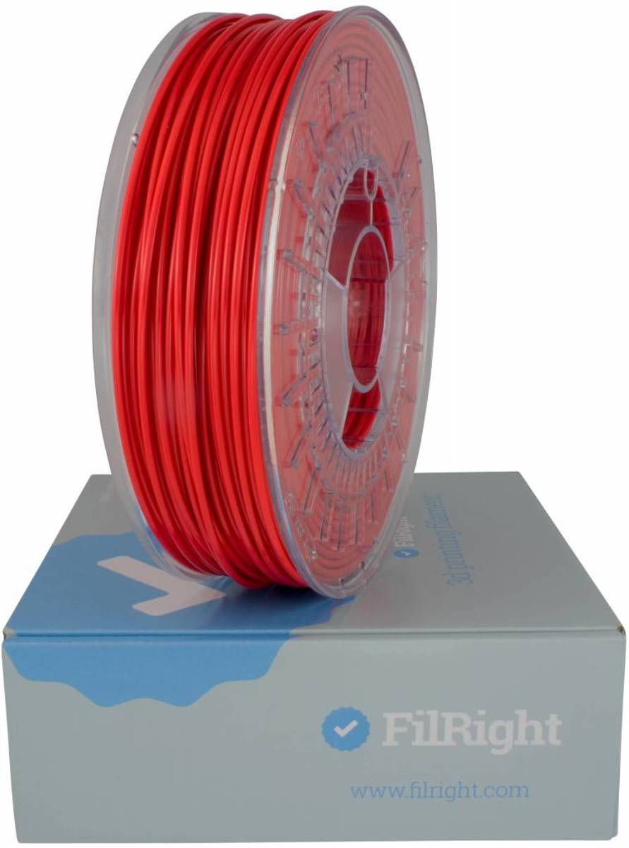 FilRight Maker PLA Filament - 1.75mm - 1 kg - Rood