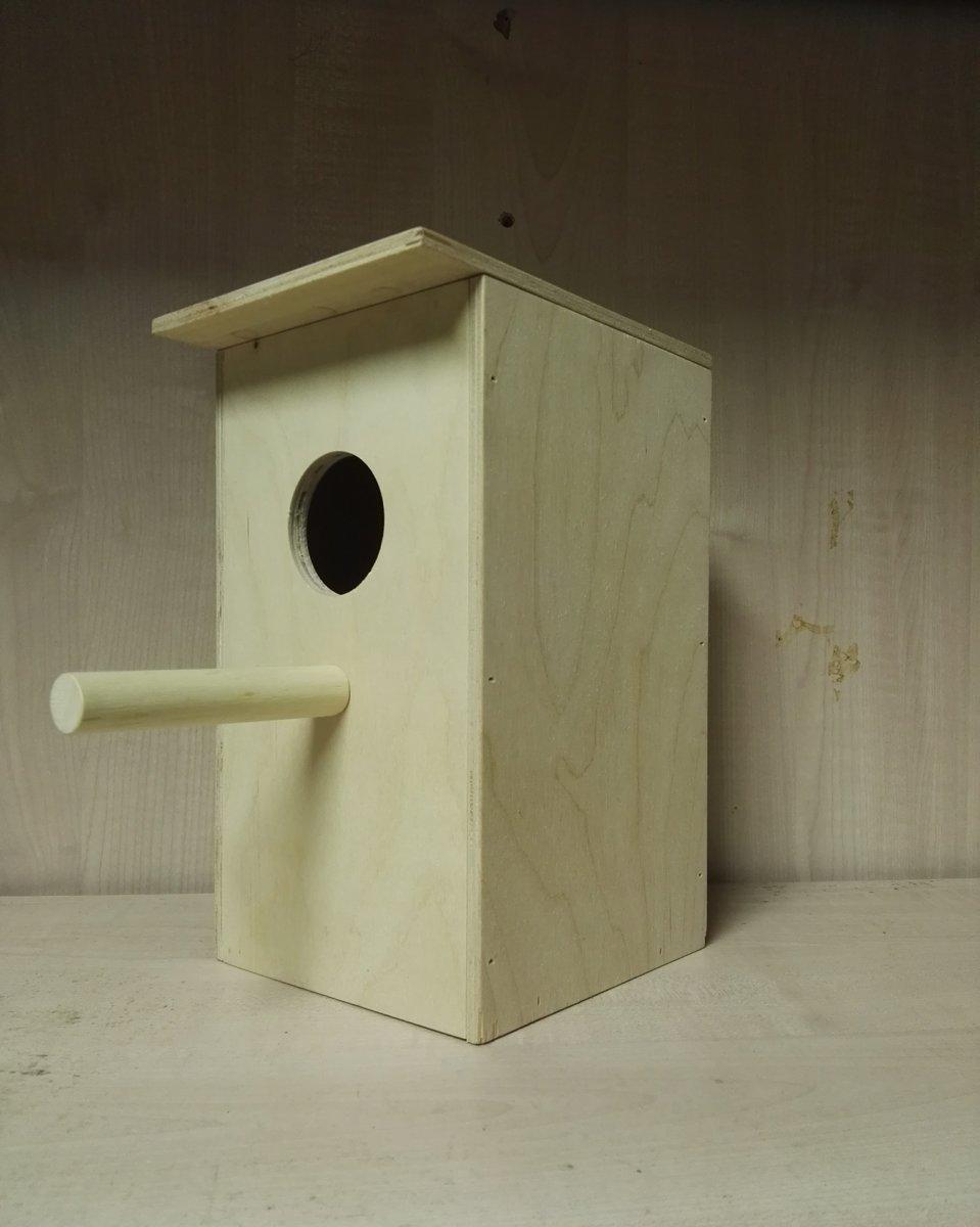 Nestkast voor parkieten 20 cm kopen