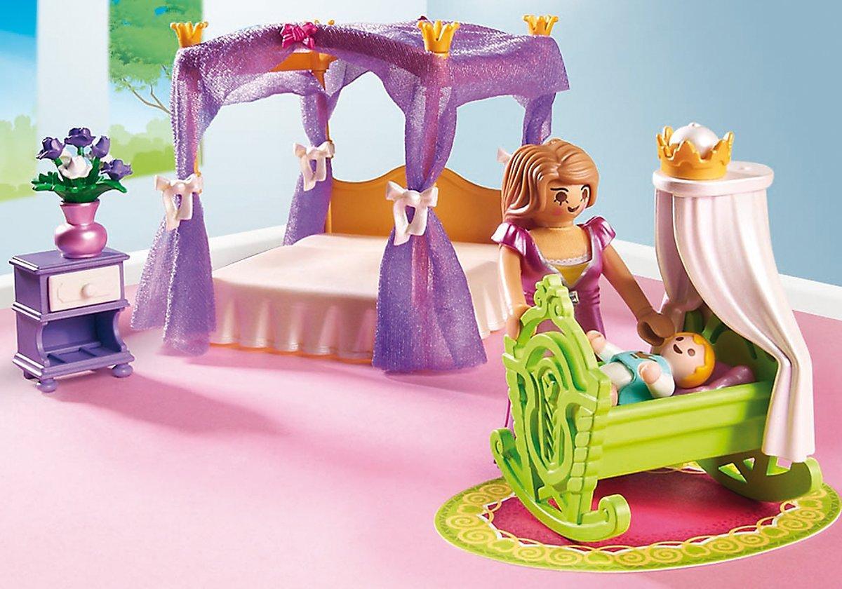 Playmobil Dollhouse Slaapkamer : Bol playmobil koninklijke slaapkamer met hemelbed
