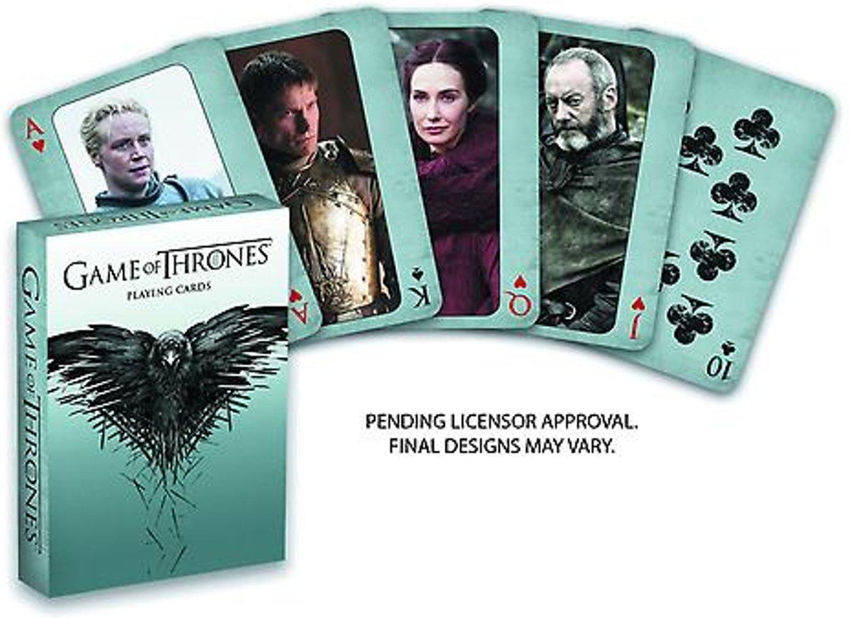 Game of Thrones speelkaarten (Dark Horse) kopen