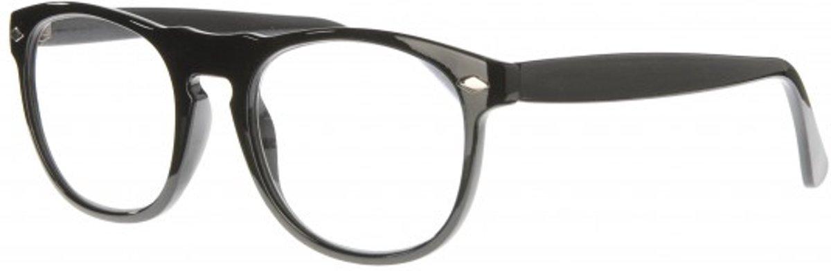 Icon Eyewear NCB002 Luciano Leesbril +1.00 - Glanzend zwart kopen
