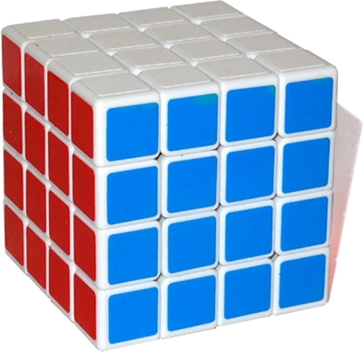Shengshou 4x4x4 cube - Witte kubus - incl. gratis verzenden