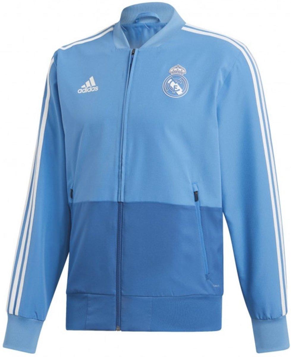 Adidas Real Madrid Trainingspak 2019 Heren transparant Maat L