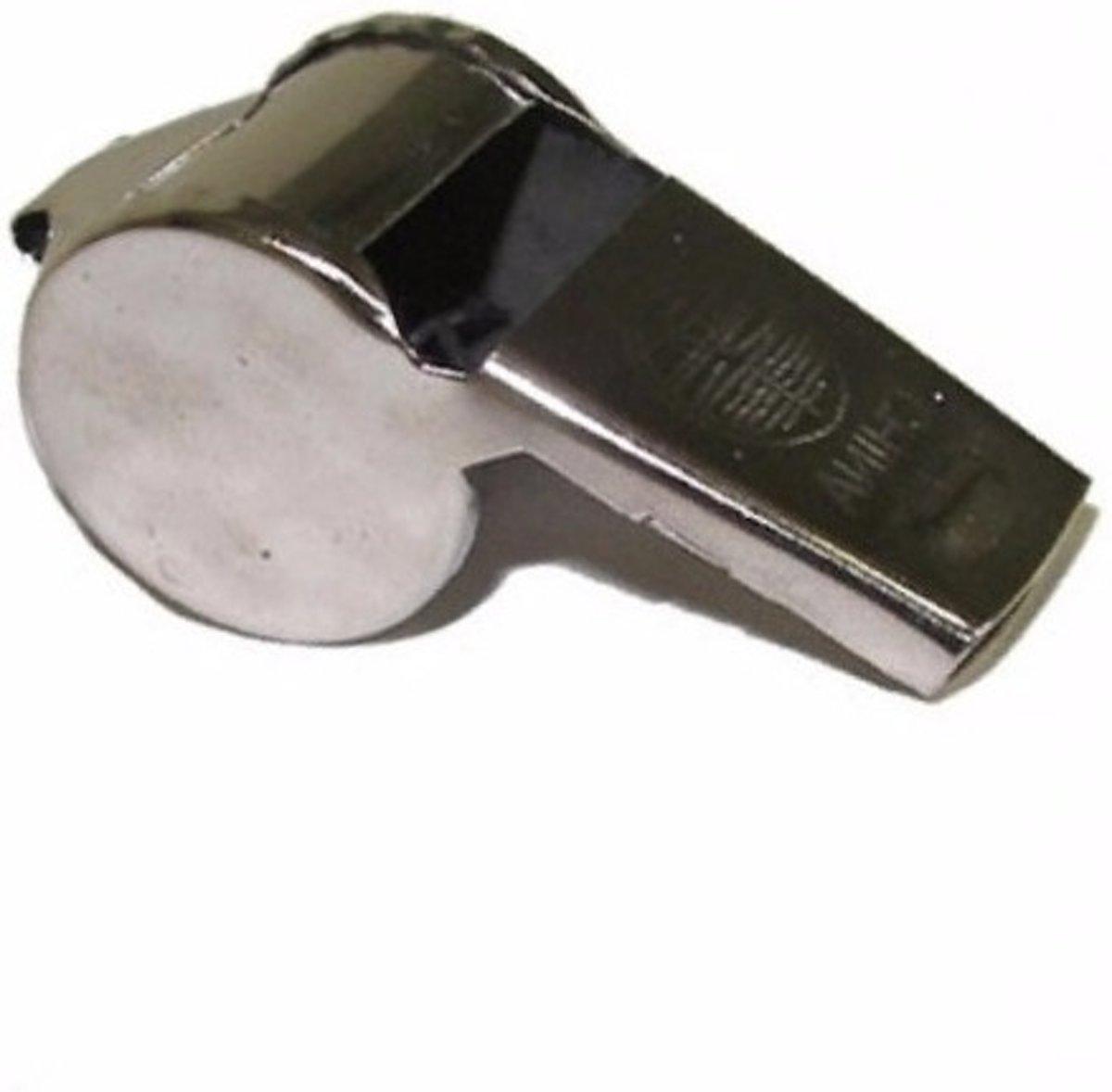 Metalen scheidsrechter fluitje kopen