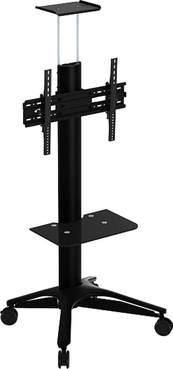 """Verrijdbare vloersteun voor schermen tot 65"""" VESA max. 600x400 zwart kopen"""