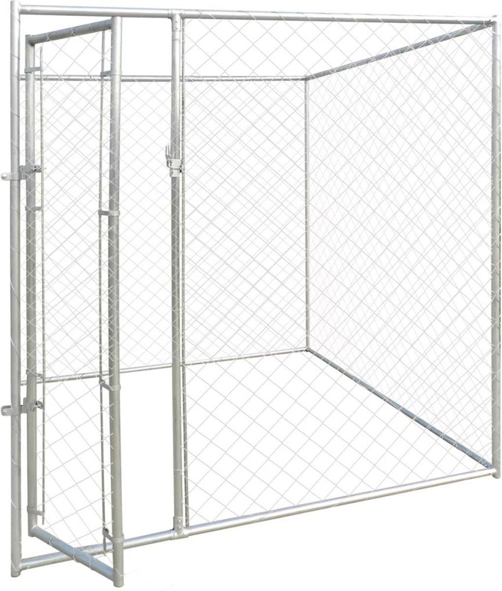 vidaXL Hondenkennel voor buiten 2x2 m kopen