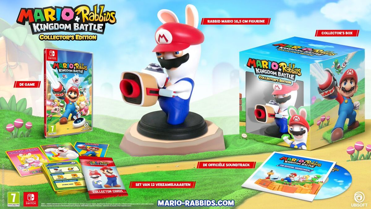 Mario + Rabbids Kingdom Battle - Collector's Edition Switch