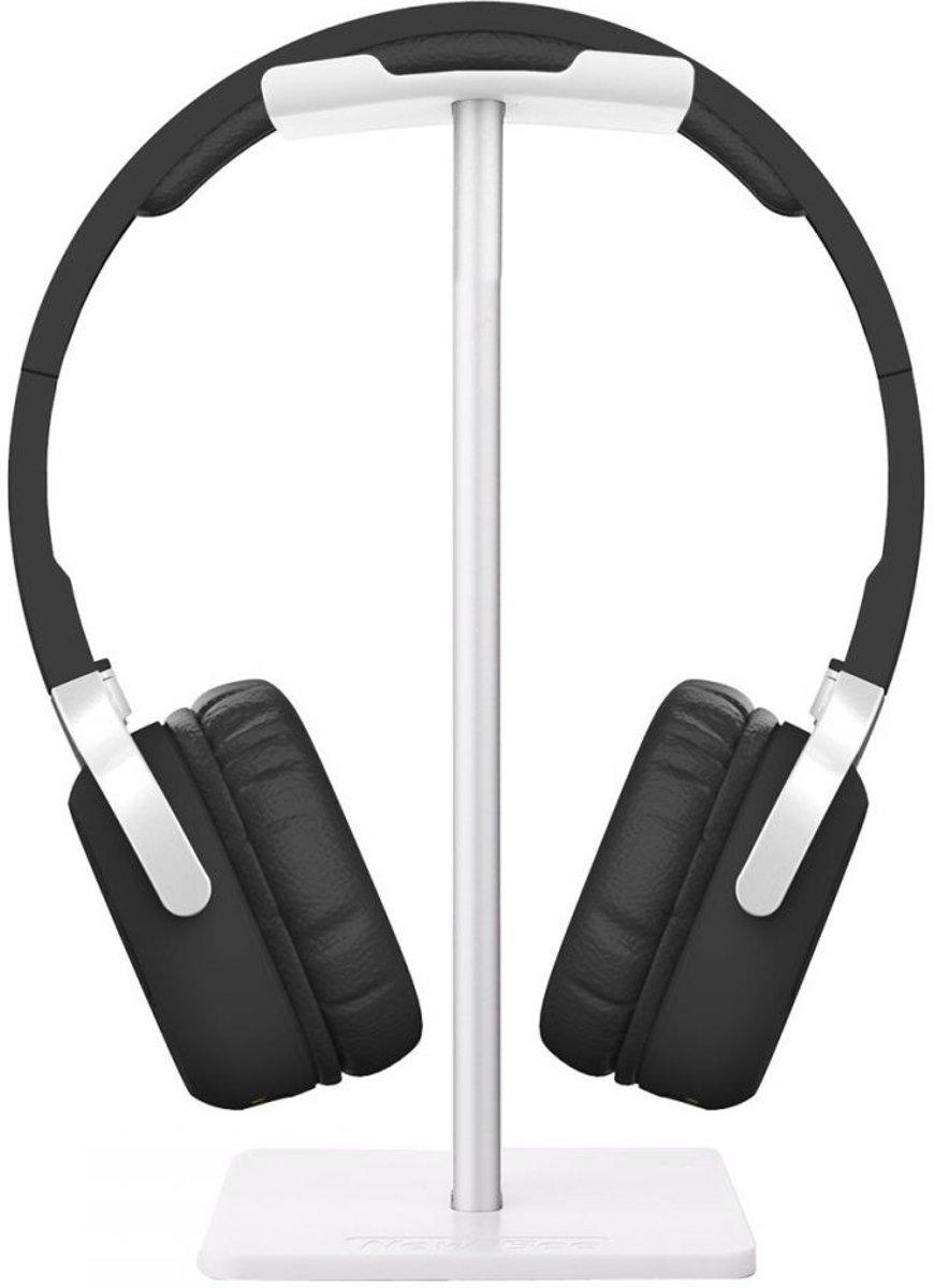 Koptelefoon Houder - Staande Headset Houder - Hoofdtelefoon Stand / Standaard - Wit kopen
