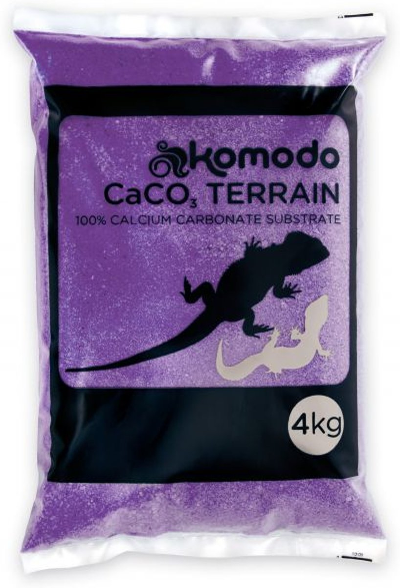 Komodo Caco Zand - Paars - 4 kg
