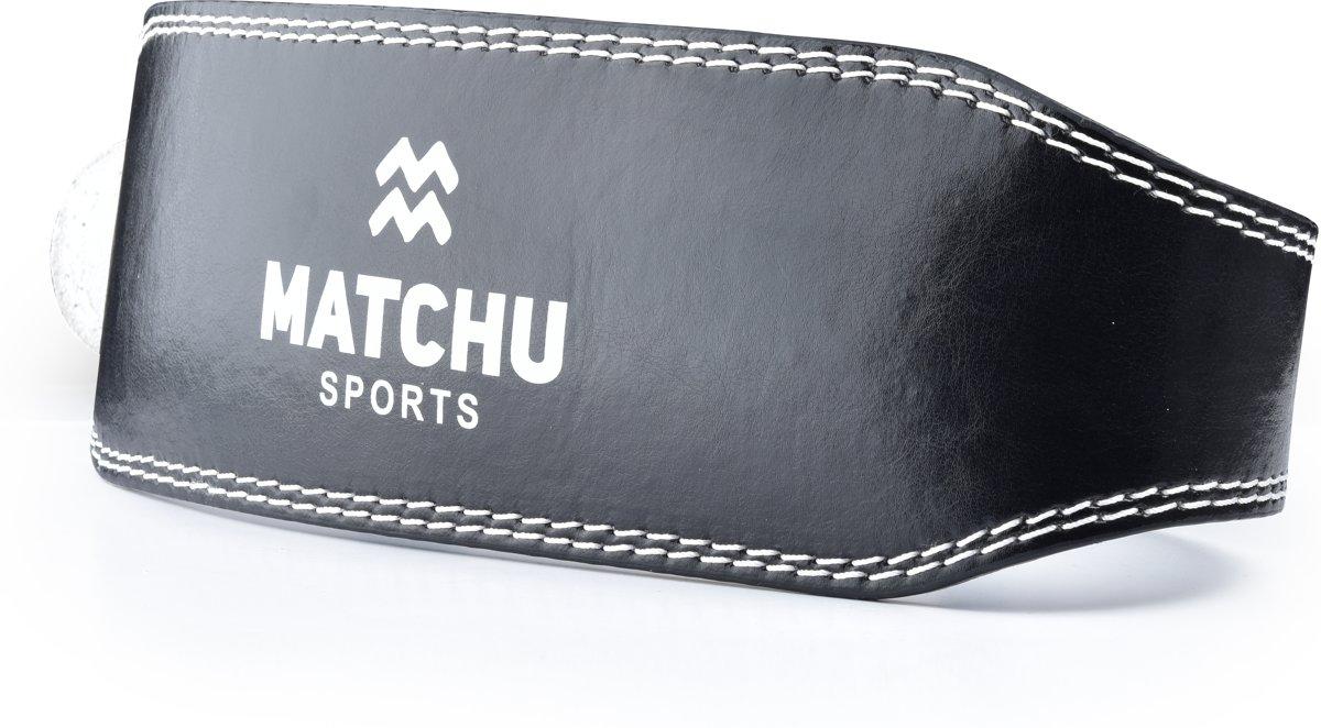 Matchu Sports - Powerlift riem - Lifting belt maat S kopen