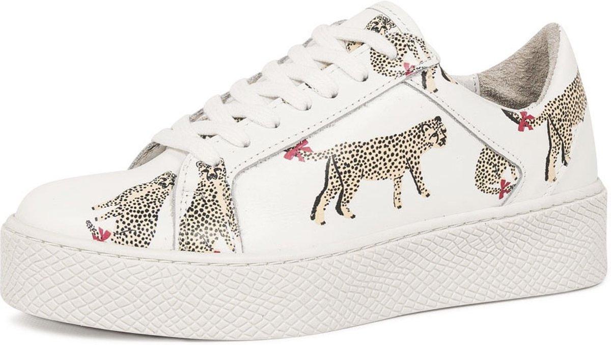 | SPM Soho Sneakers Laag Cheetah Damesschoenen
