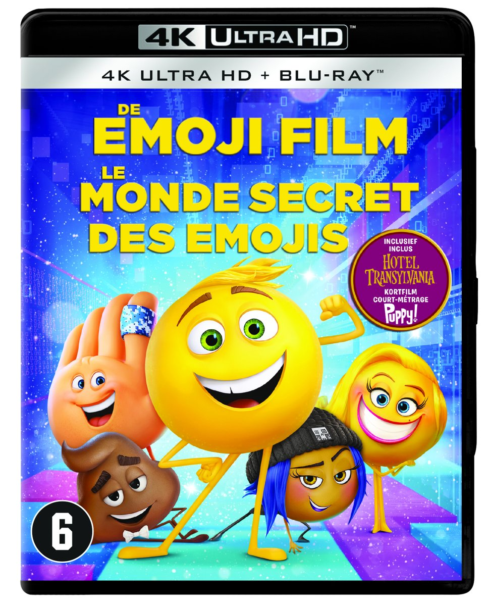 De Emoji Film (4K Ultra HD Blu-ray)-